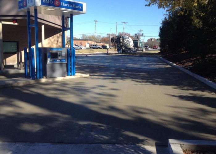 Widel Paving Concrete Parking Lot