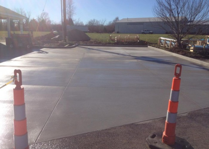 Widel Paving Concrete Parking Lot2