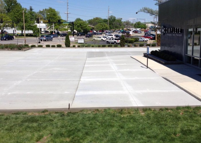Concrete Parking Lot - Asphalt Tear out and Replace with Concrete3