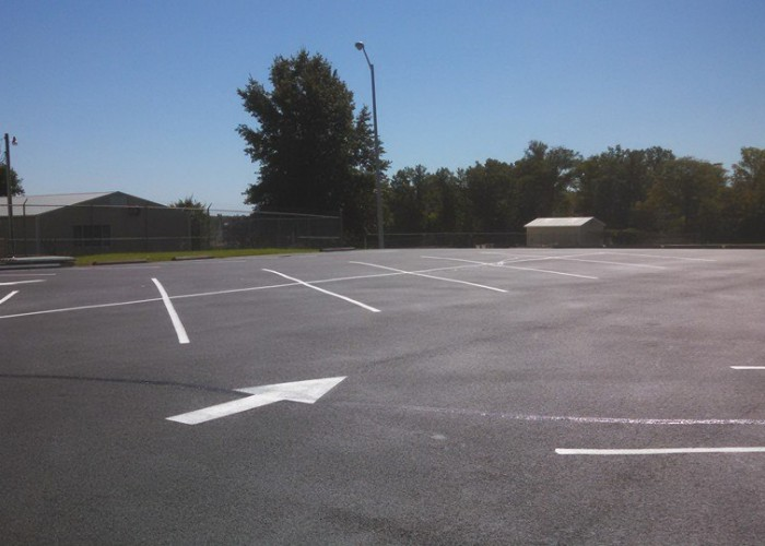 Asphalt Sealing and Striping Lincoln County Medical Center