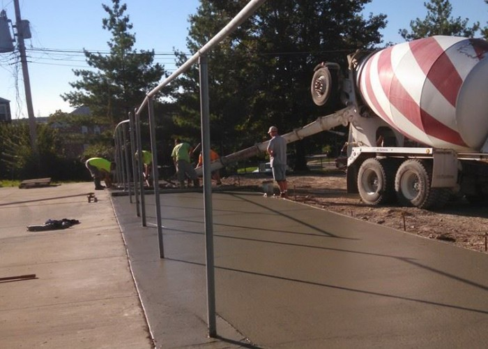 Concrete Parking Lot Expansion