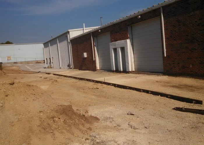 Concrete Footing and Wall for Building Expansion Genesis International