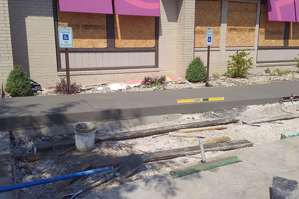 ADA Updates Widel Paving St. Charles, MO
