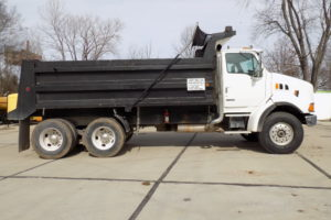 Dump Truck Widel Paving