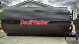 Asphalt Sealing SealMaster Tank Widel Paving